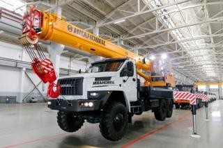 Автокран КС-45717-2М-22 на шасси УРАЛ-4320
