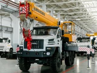 Автокран КС-45717-4В на шасси УРАЛ-5557 Next