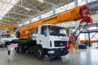 Автокран КС-45717А-1Р на шасси МАЗ-6312С3