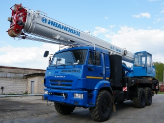 Автокран КС-45717К-3-58 на шасси КАМАЗ-43118