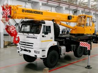 Автокран КС-45717К-3В-21 на шасси КАМАЗ-43118