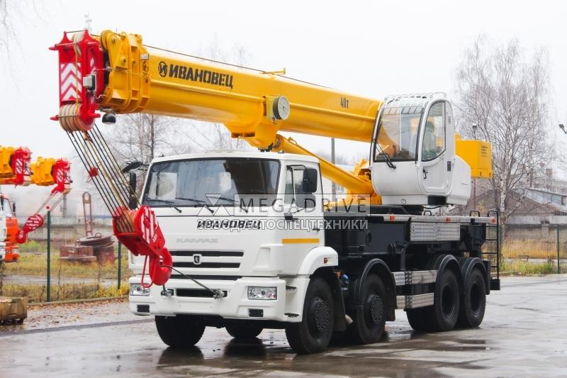 Автокран КС-65740-6 на шасси КАМАЗ-6540