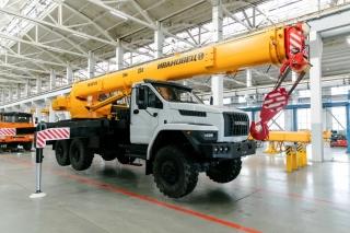 Автокран КС-45717-2Р на шасси УРАЛ-4320 Next