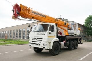 Автокран КС-45717К-3Р AIR на шасси КАМАЗ-43118